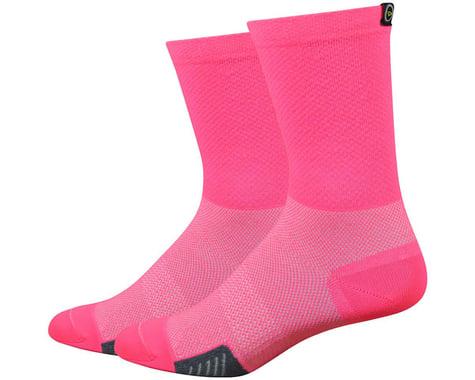 "DeFeet Cyclismo 5"" Sock (Flamingo Pink)"