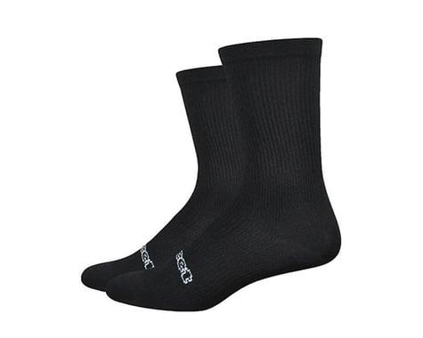 "DeFeet Evo Classique 6"" Socks (Black) (M)"