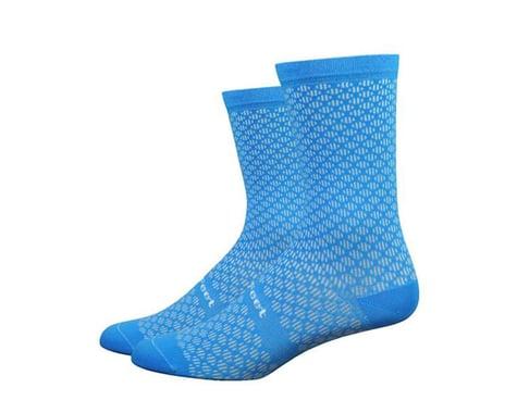 "DeFeet Evo Mount Ventoux 6"" Socks (Barnstormer Blue) (XL)"
