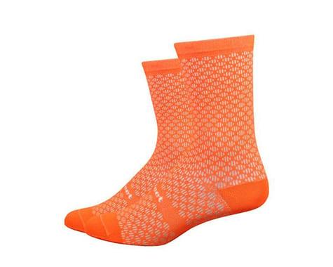 "DeFeet Evo Mont Ventoux 6"" Socks (Hi-Vis Orange) (M)"