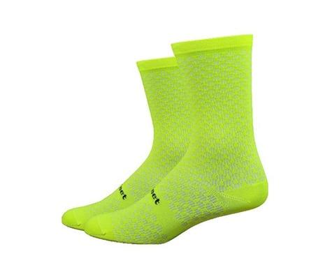 "DeFeet Evo Mount Ventoux 6"" Socks (Hi-Vis Yellow) (L)"