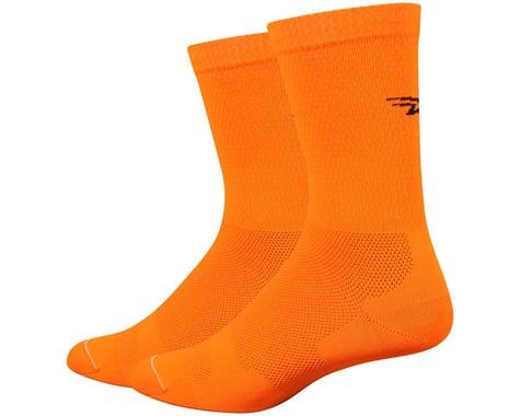 """DeFeet Levitator Lite 6"""" Socks (Orange)"""