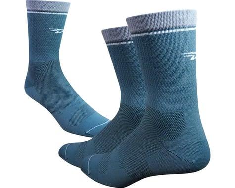 """DeFeet Levitator Lite 6"""" Socks (Gunmetal)"""