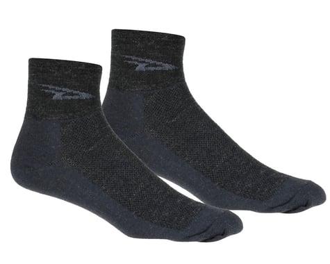 DeFeet Wooleator Sock (Charcoal Grey) (M)