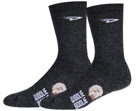 "DeFeet Woolie Boolie 6"" D-Logo Sock (Charcoal) (M)"