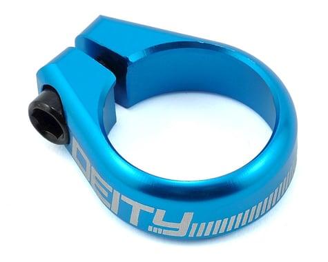 Deity Circuit Seatpost Clamp (Blue) (31.8mm)