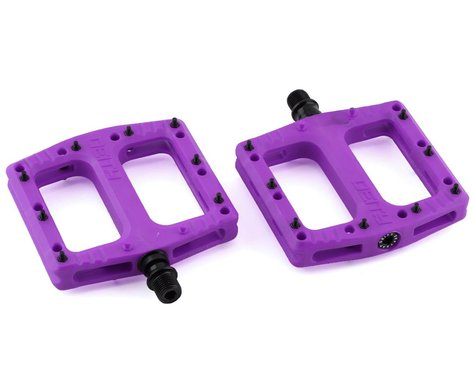"Deity Deftrap Pedals (Purple) (9/16"")"