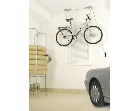 Delta Deluxe Bike Ceiling Hoist Storage Rack (Silver) (1 Bike)