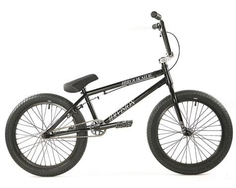 """Division Brookside 20"""" BMX Bike (20.5"""" Toptube) (Black/Polished)"""