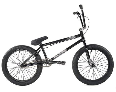 "Division Fortiz 20"" BMX Bike (21"" Toptube) (Black/Polished)"