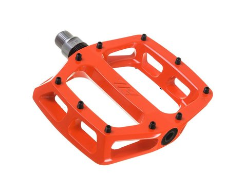 "DMR V12 Pedals (Tango Orange) (Aluminum Platform) (9/16"")"