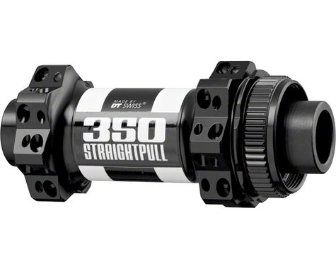 DT Swiss 350 Straight-Pull Road Front Disc Hub (Black) (24H)