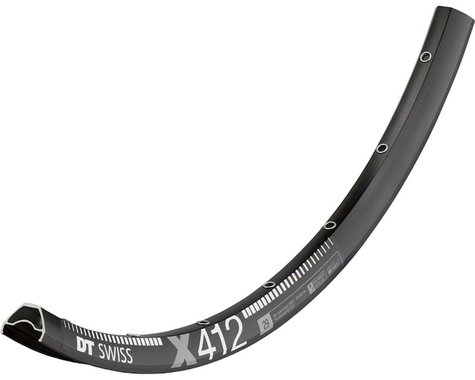 "DT Swiss X 412 Disc Rim (Black) (28H) (Presta) (29"" / 622 ISO)"