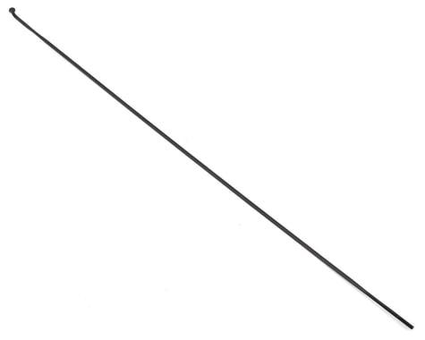 DT Swiss Aerolite Bladed J-bend Spoke (2.0mm) (Black) (296mm)
