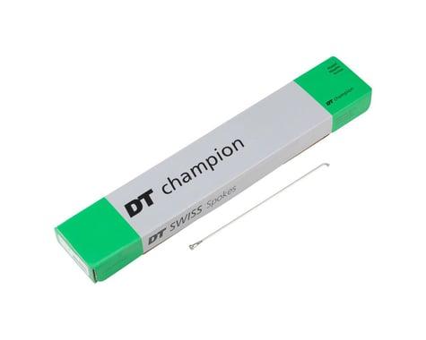 DT Swiss Champion J-bend Spoke (Silver) (2.0mm) (256mm)