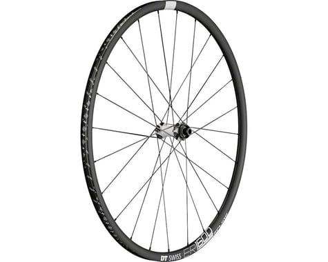 DT Swiss ER1600 DB23 Spline Front Wheel (Black) (QR/12/15 x 100mm) (700c / 622 ISO)