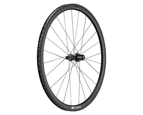 DT Swiss PRC 1400 Spline 35 Carbon Rear Wheel (Black) (Shimano/SRAM 11spd Road) (QR x 130mm) (700c / 622 ISO)