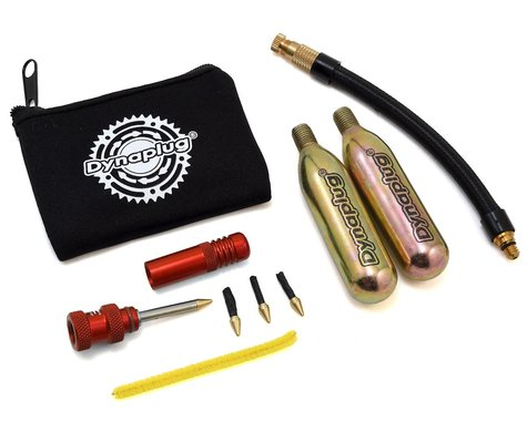 Dynaplug Air Tubeless Bicycle Tire Repair Kit (Red) (w/ CO2)