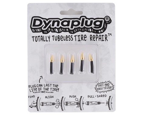 Dynaplug Tubeless Tire Repair Plugs (Bicycle Edition) (Standard-Soft tip)