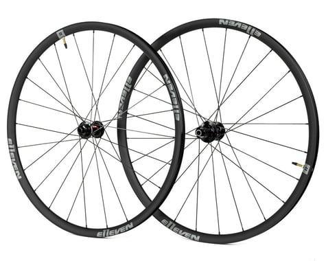 E11even Alloy Disc Gravel 25mm Wheelset (Black) (Shimano/SRAM 11spd Road) (12 x 100, 12 x 142mm) (700c / 622 ISO)