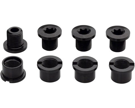 Easton Aluminum Chainring Bolts & Nuts (M8 x 8.5) (4)