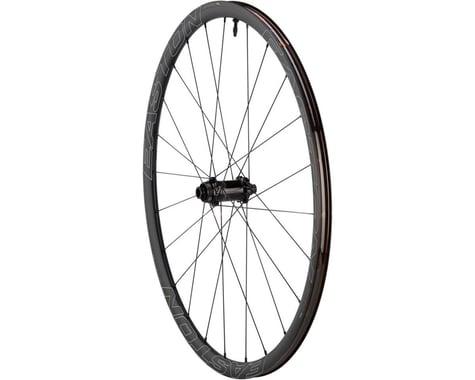 Easton EA90 SL Disc Clincher Front Wheel (Black) (QR/12/15 x 100mm) (700c / 622 ISO)