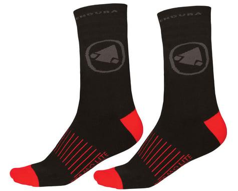Endura Thermolite II Socks (Black) (Twin Pack) (2 Pairs) (L/XL)