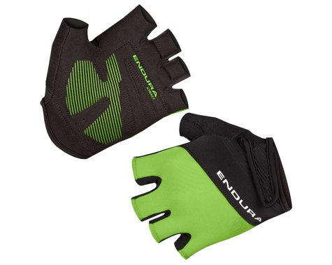 Endura Xtract Mitt II Short Finger Gloves (Hi-Viz Green) (XL)