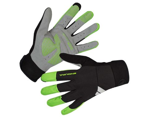 Endura Windchill Gloves (Hi-Viz Green) (2XL)