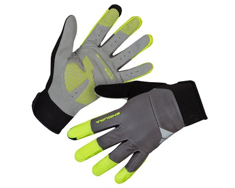 Endura Windchill Gloves (Hi-Viz Yellow) (XL)