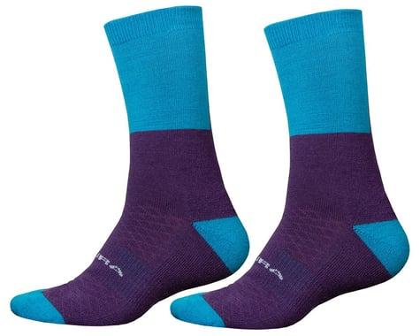 Endura BaaBaa Merino Winter Socks (Electric Blue) (S/M)