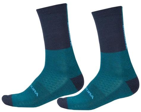 Endura BaaBaa Merino Winter Socks (Kingfisher) (L/XL)