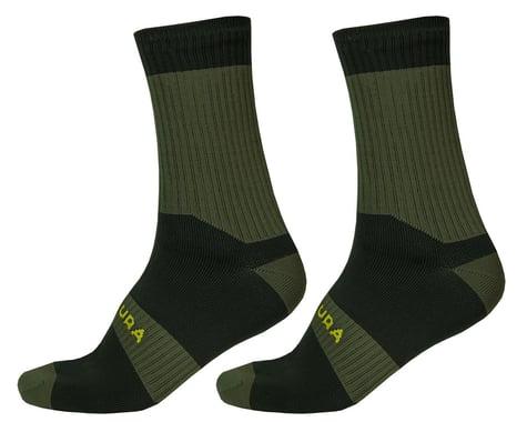 Endura Hummvee Waterproof Socks II (Forest Green) (L/XL)