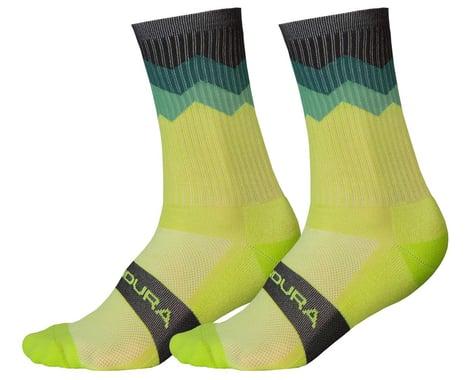 Endura Jagged Sock (Lime Green) (S/M)