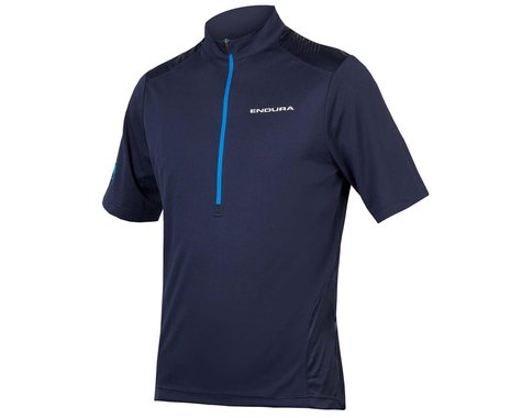 Endura Hummvee Short Sleeve Jersey (Blue) (S)