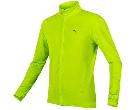 Endura Xtract Roubaix Long Sleeve Jersey (Hi-Vis Yellow) (XL)