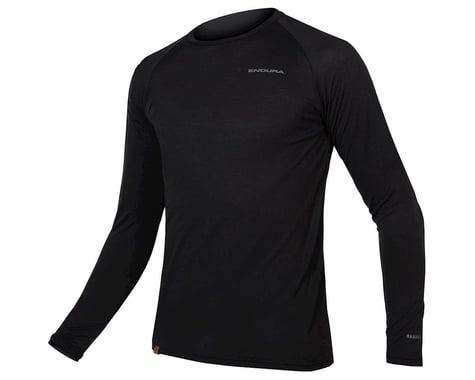 Endura BaaBaa Blend Long Sleeve Base Layer (Black) (XL)