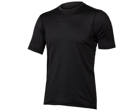 Endura Transloft Short Sleeve Base Layer (Black) (M)