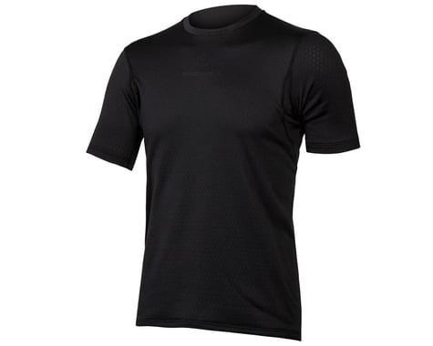 Endura Transloft Short Sleeve Base Layer (Black) (XL)