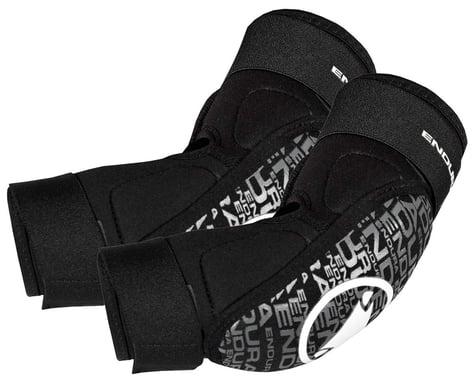 Endura SingleTrack Youth Elbow Pads (Black) (Youth L)
