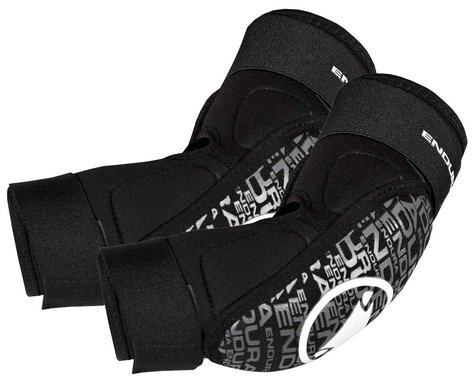 Endura SingleTrack Youth Elbow Pads (Black) (Youth M)