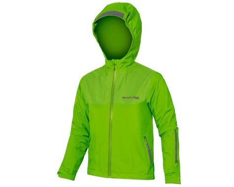 Endura Kids MT500JR Waterproof Jacket (Hi-Vis Green) (Youth L)