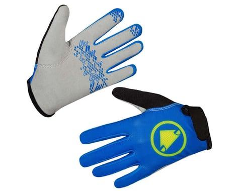 Endura Kids Hummvee Gloves (Azure Blue) (Youth L)
