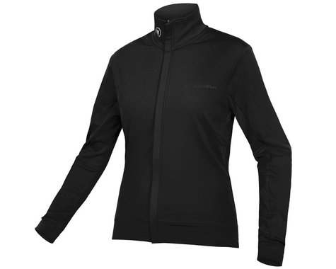 Endura Women's Xtract Roubaix Long Sleeve Jersey (Black) (XS)