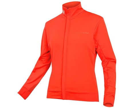Endura Women's Xtract Roubaix Long Sleeve Jersey (Hi-Vis Coral) (S)