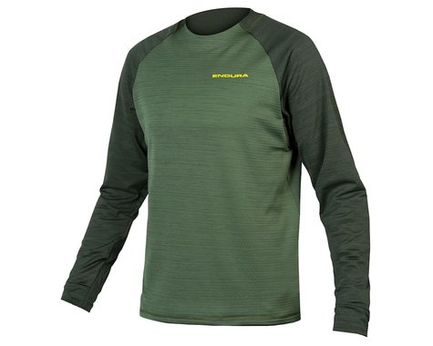 Endura Men's Singletrack Fleece (Forest Green) (L)