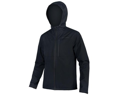 Endura Hummvee Waterproof Hooded Jacket (Black) (L)