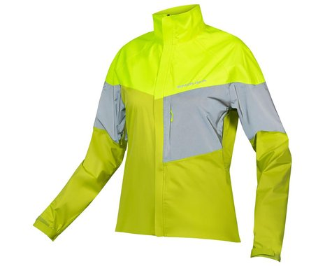 Endura Women's Urban Luminite Jacket II (Hi-Viz Yellow) (XS)