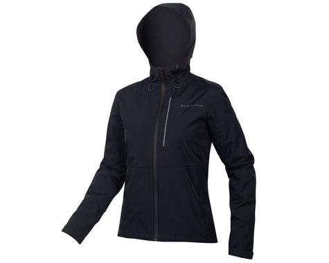 Endura Women's Hummvee Waterproof Hooded Jacket (Black) (XL)