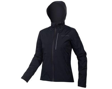 Endura Women's Hummvee Waterproof Hooded Jacket (Black) (2XL)